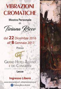 Vibrazioni cromatiche – Mostra personale a Lecce
